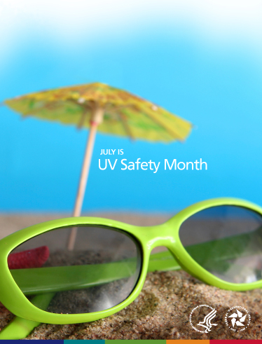 July is UV Safety Month.
